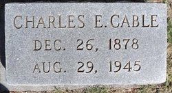Charles Edward Cable