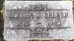 Bertha C. <I>Jenkins</I> Brewer