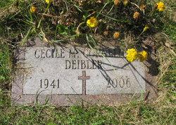 Cecile Marie <I>Cornelius</I> Deibler