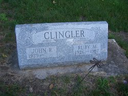 Ruby M. <I>Chaney</I> Clingler