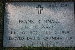 Frank R Sinare