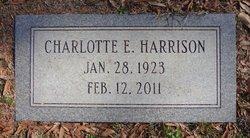 Charlotte E Harrison