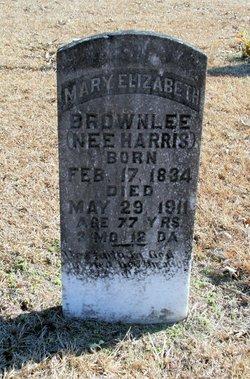 Mary Elizabeth <I>Harris</I> Brownlee
