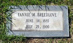 Fannie M. Breedlove
