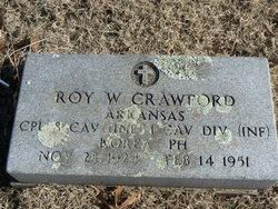 Roy W Crawford