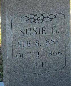 Susie Gertrude <I>Shuman</I> Lucas