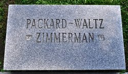 Cora B <I>Packard</I> Zimmerman