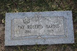 Fay <I>Roberts</I> Harbus