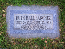 Ruth <I>Hall</I> Sanchez