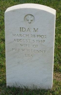 Ida M Denny