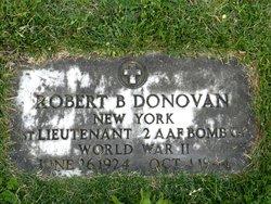 Lieut Robert B Donovan