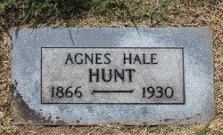 Agnes D. <I>Hale</I> Hunt