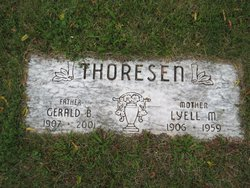 Lyell M <I>Rasmussen</I> Thoresen