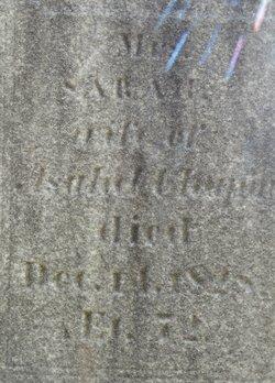 """Sarah """"Sally"""" <I>Frink</I> Chapin"""