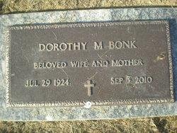 Dorothy M. <I>Wagner</I> Bonk