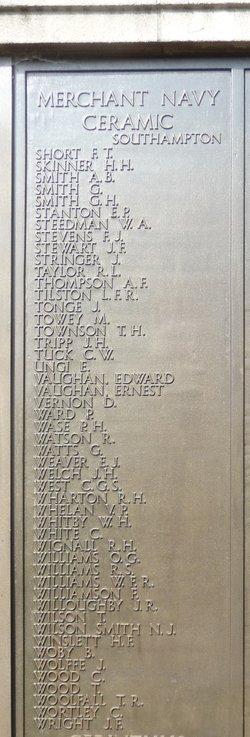 Boatswain Edward Vaughan
