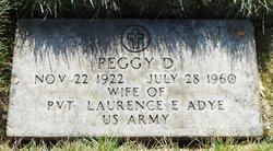 Peggy D Adye