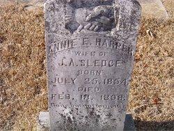 Annie E. <I>Harper</I> Sledge