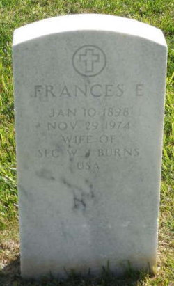 Frances E Burns
