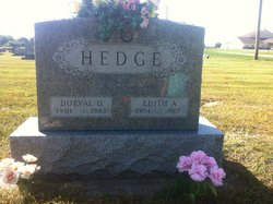 Edith A. <I>Ragsdale</I> Hedge