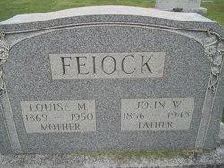 Louise M <I>Freitag</I> Feiock
