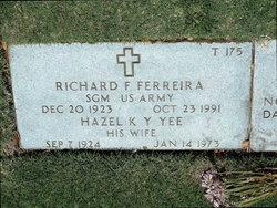 Richard F Ferreira