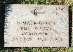 Harold Mack Gaunt