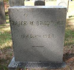 Alice M <I>Bradford</I> Bradford