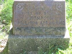 Susan April <I>Womack</I> Thompson