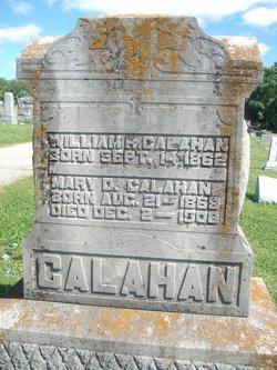 Mary D. <I>Robinson</I> Calahan
