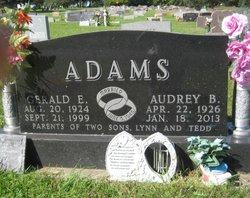 Audrey <I>Petersen</I> Adams