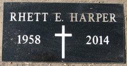 Rhett E. Harper
