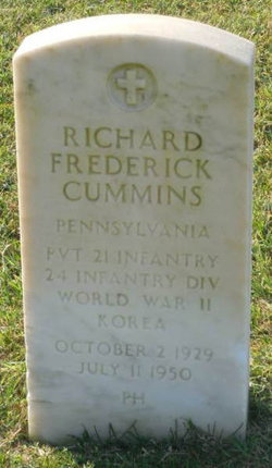 Pvt Richard F Cummins