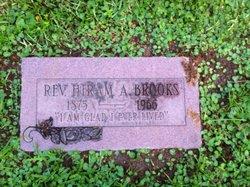 Rev Hiram A Brooks