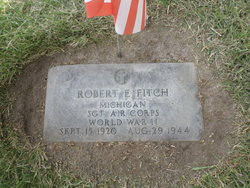 SGT Robert E Fitch
