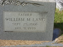 William M. Lang