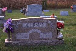 Mary Ethel <I>Curry</I> Behrman