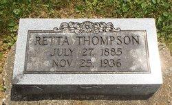 """Henrietta Rebecca """"Retta"""" <I>McNabb</I> Thompson"""