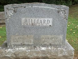 Rachel Carrie <I>Lane</I> Hilliard