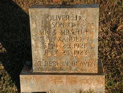 Oliver Alexander, Jr