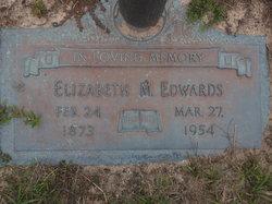Mary Elizabeth <I>Maultsby</I> Edwards