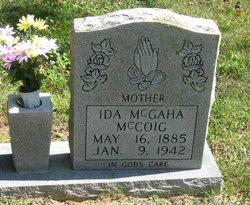 Ida Belle <I>McGaha</I> McCoig