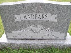 Louella Mae <I>Pickens</I> Andears