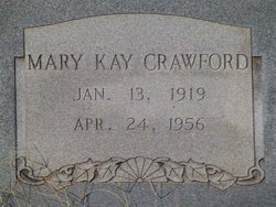 "Mary Katherine ""Kay"" <I>Slaughter</I> Crawford"