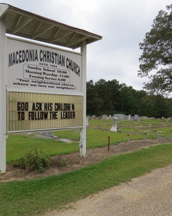 Macedonia Christian Church Cemetery In Reeltown Alabama Find A