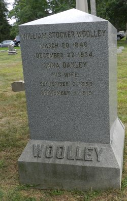 Anna <I>Oakley</I> Woolley