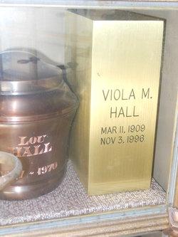 Viola Mabel <I>Raines</I> Hall