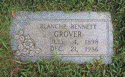 Zena Blanche <I>Bennett</I> Grover