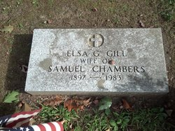 Elsa G <I>Gill</I> Chambers