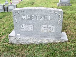 Sarah Elizabeth <I>Yankey</I> Whetzel